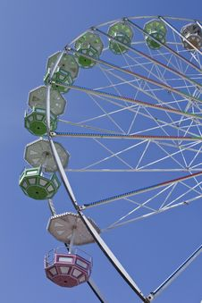 Close-up Ferris Wheel Royalty Free Stock Photography