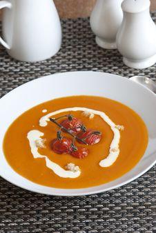 Free Tomato Soup Stock Photo - 19346450