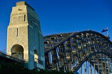 Free Sydney Habrbour Bridge Royalty Free Stock Photography - 19347017