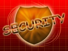 Free Inscription Security And Shield Stock Photos - 19347093