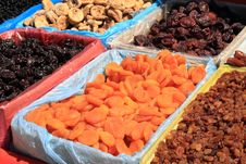 Free Dried Fruits At Market Royalty Free Stock Image - 19347136