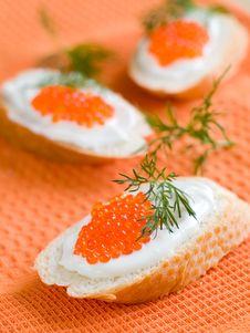 Free Red Caviar Stock Photo - 19347200