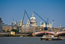 Free View Of London Royalty Free Stock Photography - 19347207