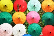 Free Umbrella Handmade Stock Photo - 19347340