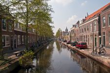 Free Houses And Canal . Stock Photos - 19347753