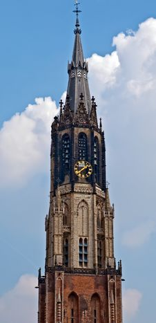 Free Architectural Details.Delft , New Church . Royalty Free Stock Image - 19347796