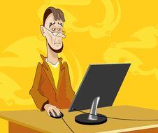 Free Man-hacker Stock Images - 19348024
