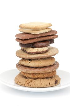 Free Biscuit Tower Stock Image - 19348131
