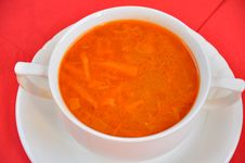 Free A Delicious Tomato Soup Stock Photography - 19348512