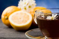 Free Lemon Tea Stock Photography - 19349172