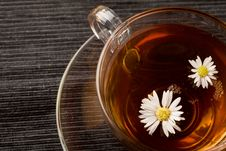 Free Chamomile With Marguerite Royalty Free Stock Photos - 19349208
