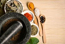 Free Spices Royalty Free Stock Photo - 19349235