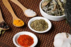 Free Spices Royalty Free Stock Images - 19349369