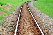 Free Railway Track Stock Photography - 19349782