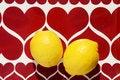 Free Two Yellow Lemons Stock Photo - 19352690
