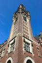 Free Clock Tower Of The Peace Palace Royalty Free Stock Images - 19354549