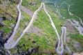 Free Picturesque Norway Mountain Landscape. Trollstigen Royalty Free Stock Photo - 19355415