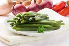 Green Beans - French Beans Stock Photography