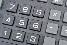 Calculator Keypad Stock Image