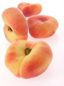 Free Flat Peaches Royalty Free Stock Image - 19352366