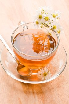 Free Chamomile With Marguerite Stock Photos - 19352563