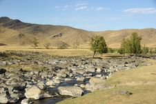 Free Landscape In Mongolia Stock Photography - 19352892