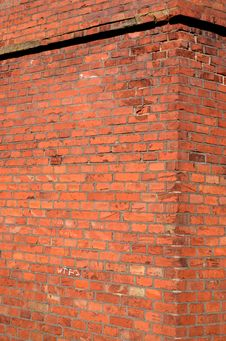 Free Red Brick Old Wall Background Royalty Free Stock Photography - 19353157