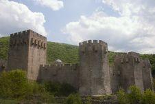 Castle Monastery Stock Photo