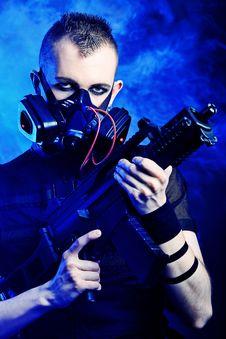 Free Gas Mask Royalty Free Stock Photo - 19354065