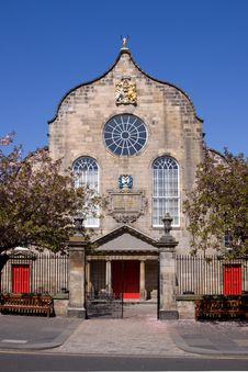 Free Canongate Kirk, Royal Mile, Edinburgh Royalty Free Stock Images - 19355409