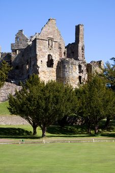 Dirleton Castle Royalty Free Stock Image