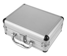 Free Aluminum Suitcase Stock Photo - 19355720