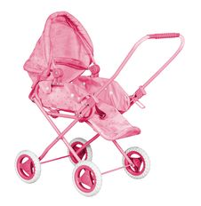 Free Pink Baby Carriage Stock Photography - 19356022