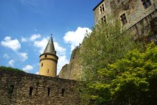 Free Vianden Castle Royalty Free Stock Photography - 19356567