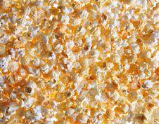 Free Popcorn Background Royalty Free Stock Photo - 19356725