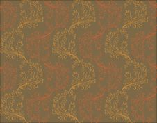 Vector Seamless Floral Pattern Royalty Free Stock Image