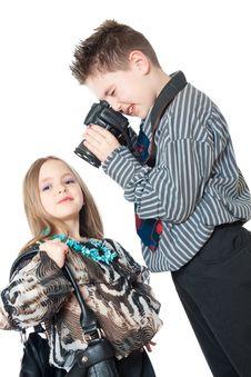 Free Children Posing Stock Photos - 19357433
