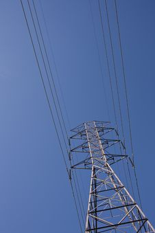 Free Power Cables & Pylon Royalty Free Stock Images - 19357639