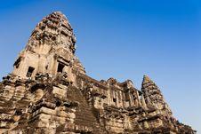 Free Angkor Wat, Cambodia Stock Image - 19358141