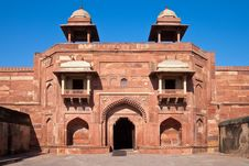 Free Jodha Bai Palace Stock Image - 19359121
