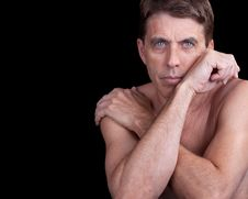 Free Male With Crossed Arms Stock Image - 19359171