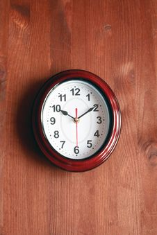 Free Clock On Wall Royalty Free Stock Photography - 19359417