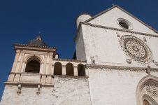Free Saint Francis Basilica In Assisi Royalty Free Stock Image - 19359716