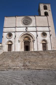Duomo Of Todi Royalty Free Stock Photography