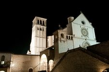 Free Saint Francis Basilica In Assisi Royalty Free Stock Photos - 19359828