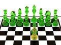 Free Glass Chess Royalty Free Stock Photo - 19360885