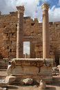 Free Basilica At Leptis Magna Libya Royalty Free Stock Photos - 19362588