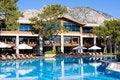 Free Swimming Pool At Summer Resort Royalty Free Stock Image - 19362856
