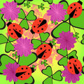 Free Seamless Floral Pattern Stock Photos - 19365893