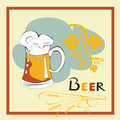 Free Template For Beer Menu Stock Photo - 19366970